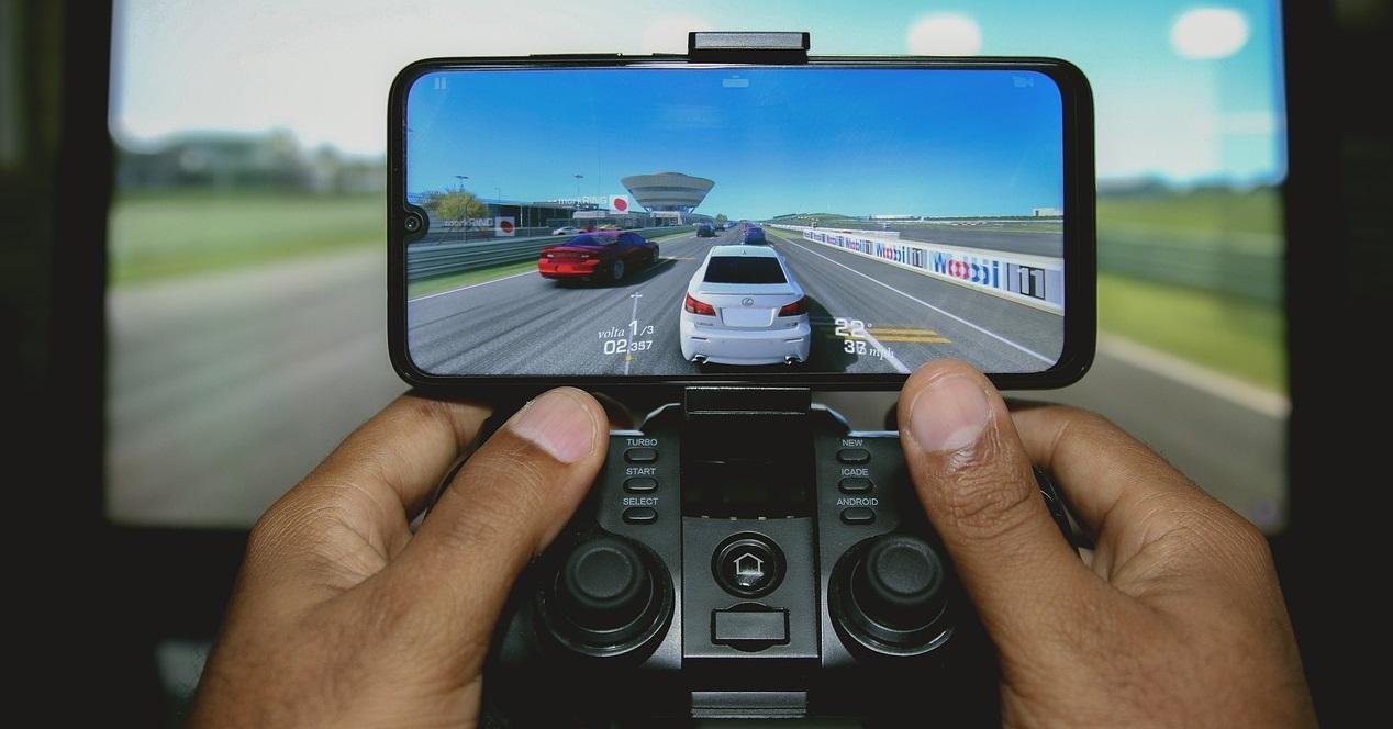 juego de coches en el movil