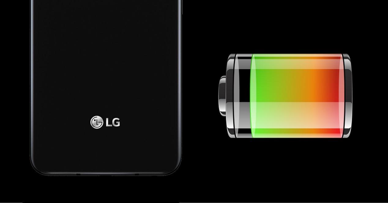 movil lg y bateria
