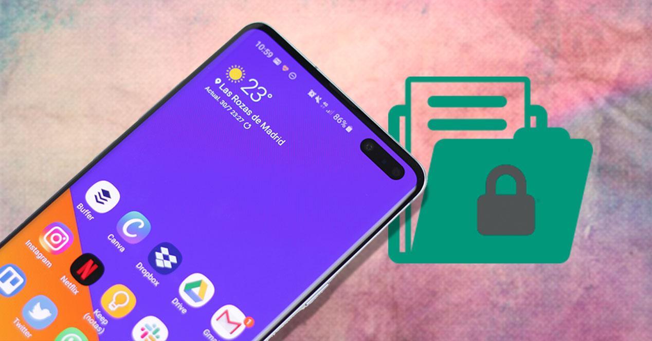 samsung Galaxy S10 permisos