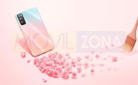 Huawei Enjoy Z rosa