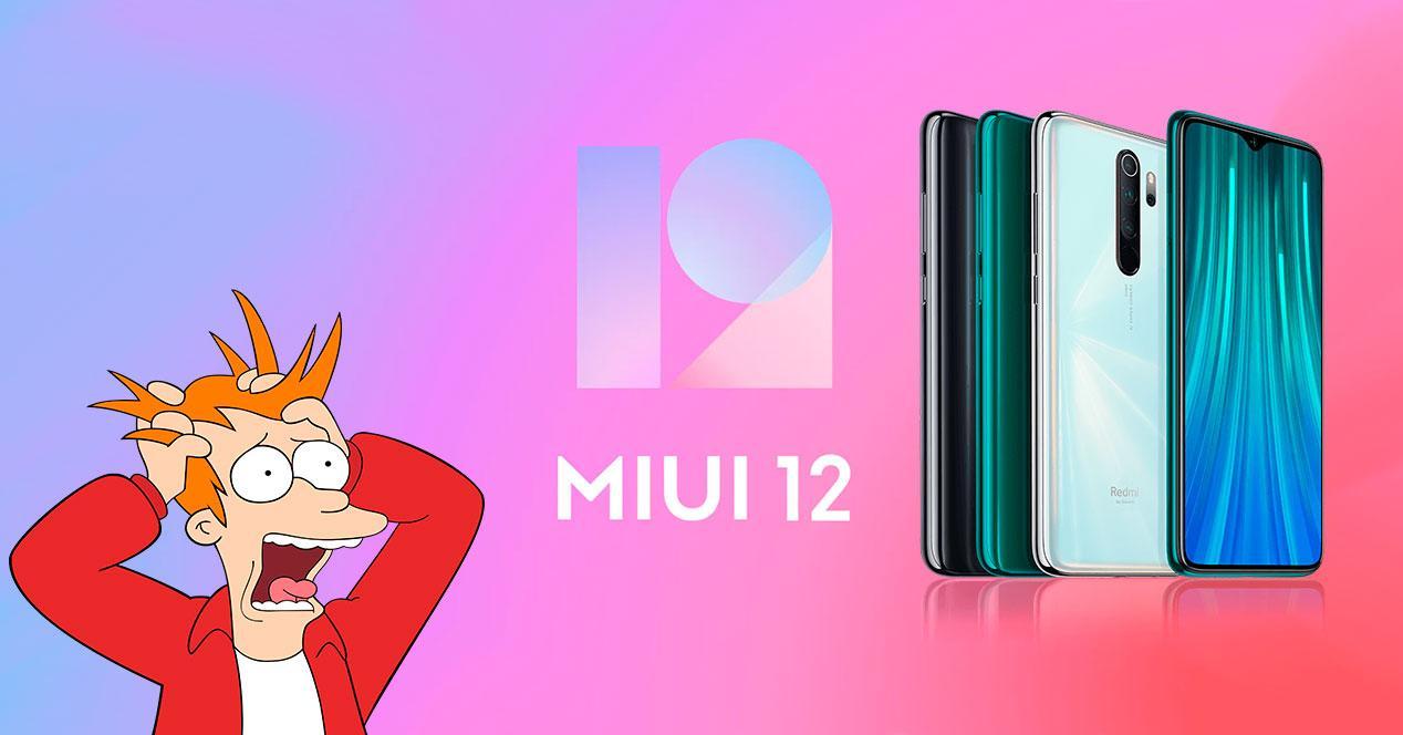 MIUI 12 Redmi Note 8 Pro