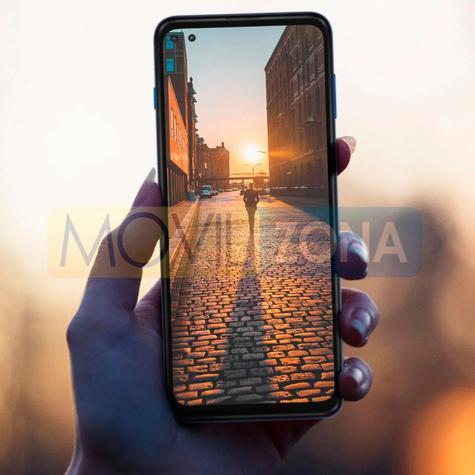Moto G 5G Plus pantalla