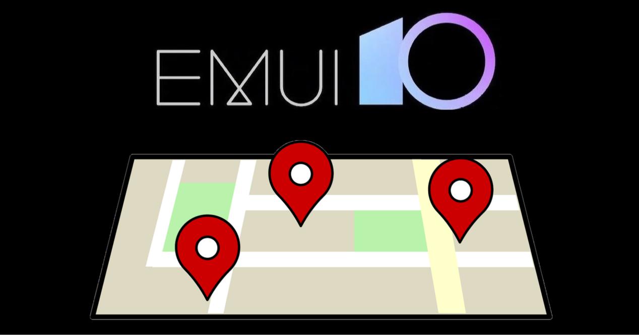 emui 10 ubicación