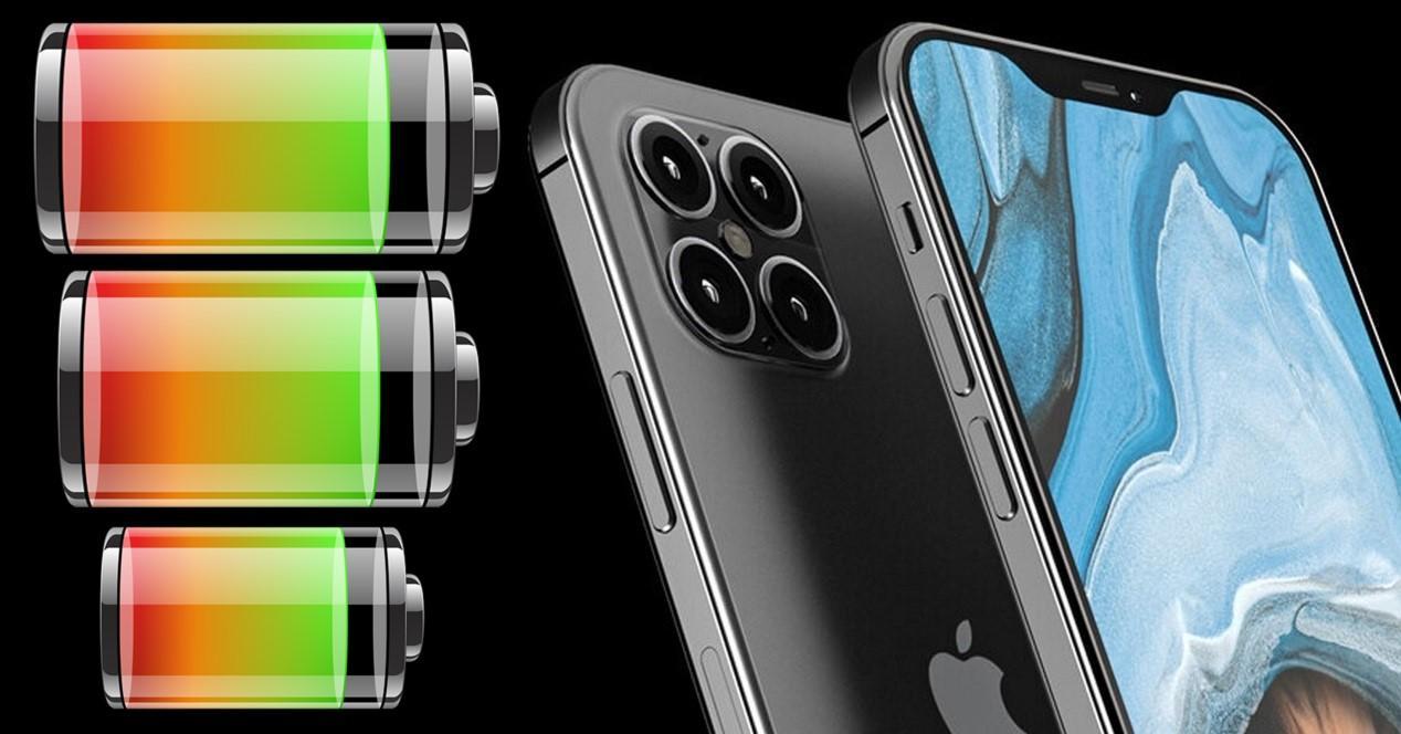 iphone 12 baterías