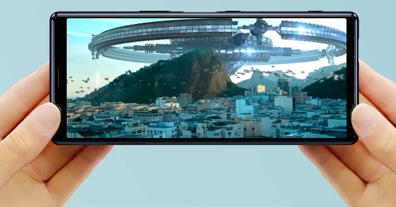pantalla sony xperia