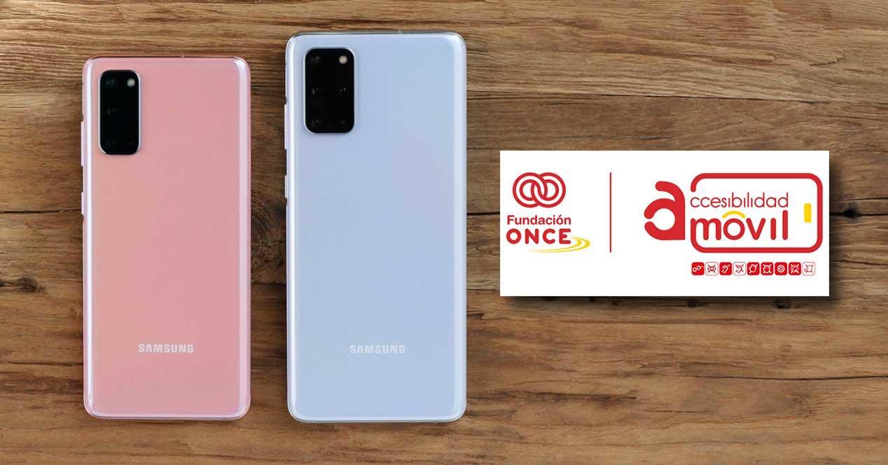 Samsung accesibilidad ONCE
