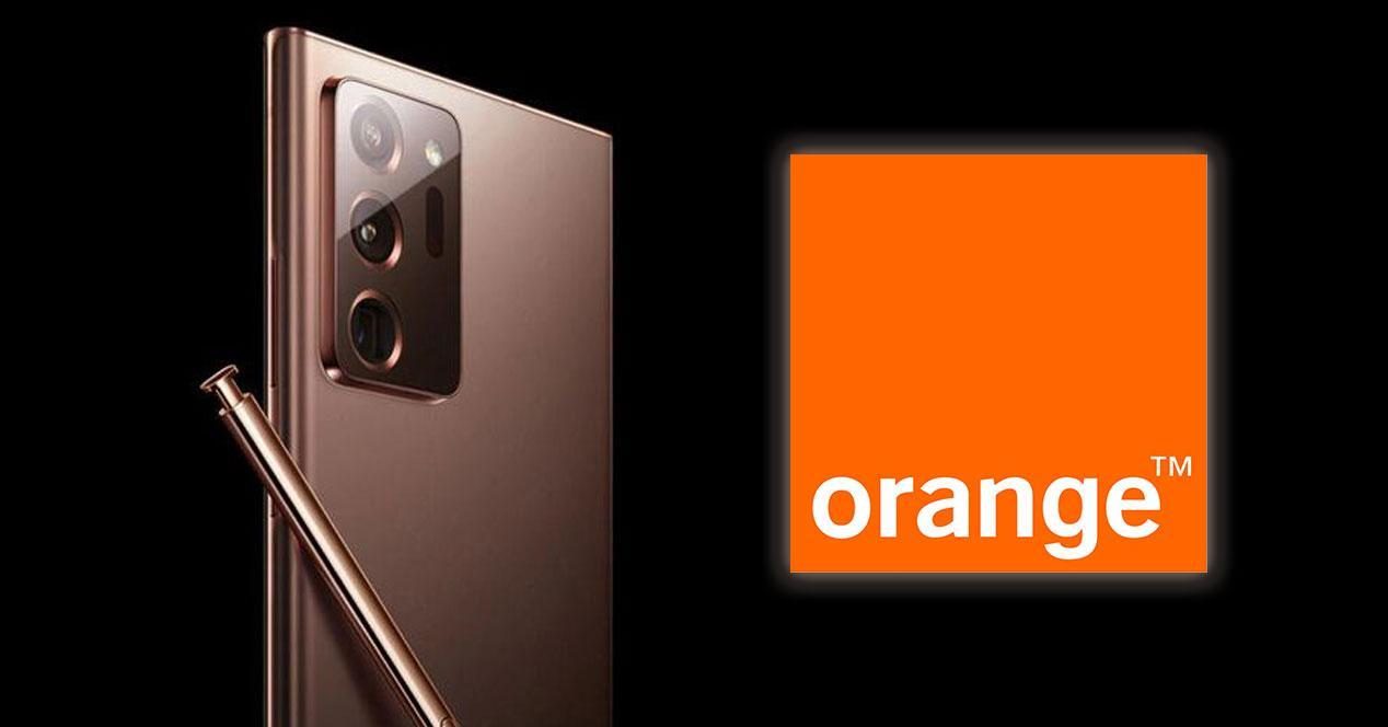 Galaxy Note 20 Orange