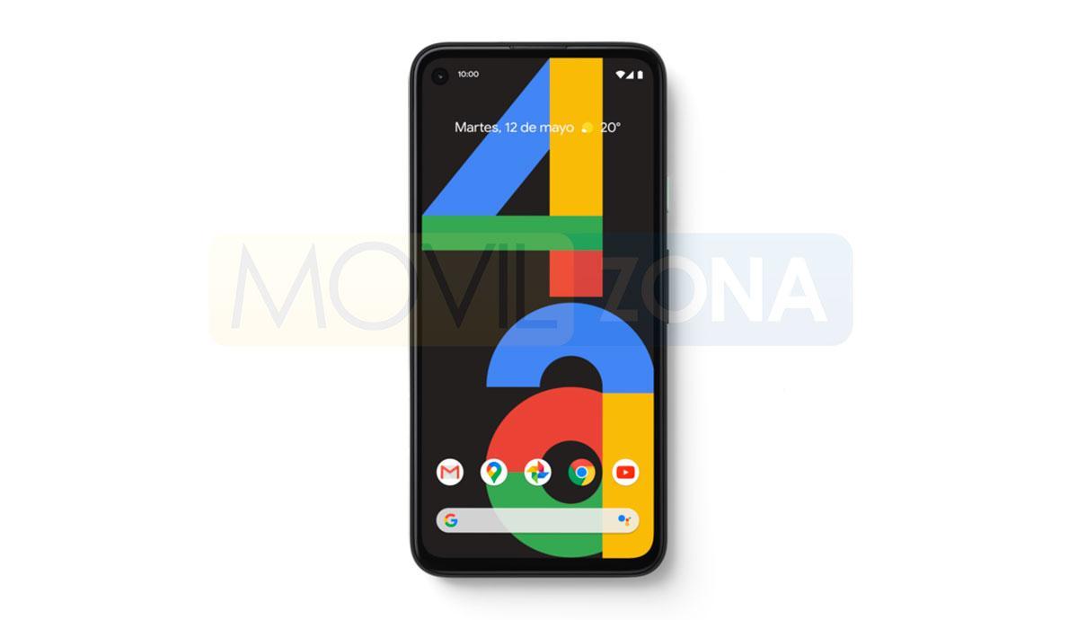 Google Pixel 4apantalla