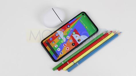 Google Pixel 4a pantalla