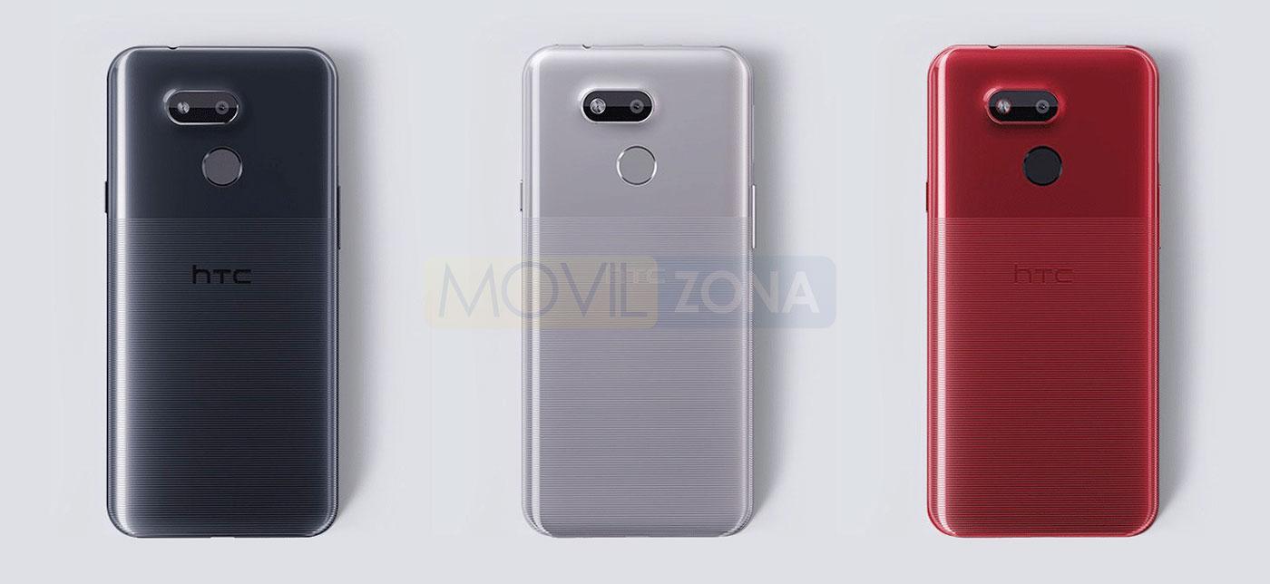 HTC Desire 12s colores