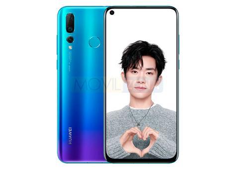 Huawei Nova 4 diseño