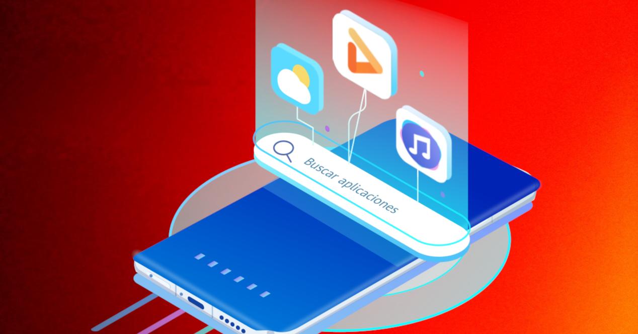 Huawei encontrar apps