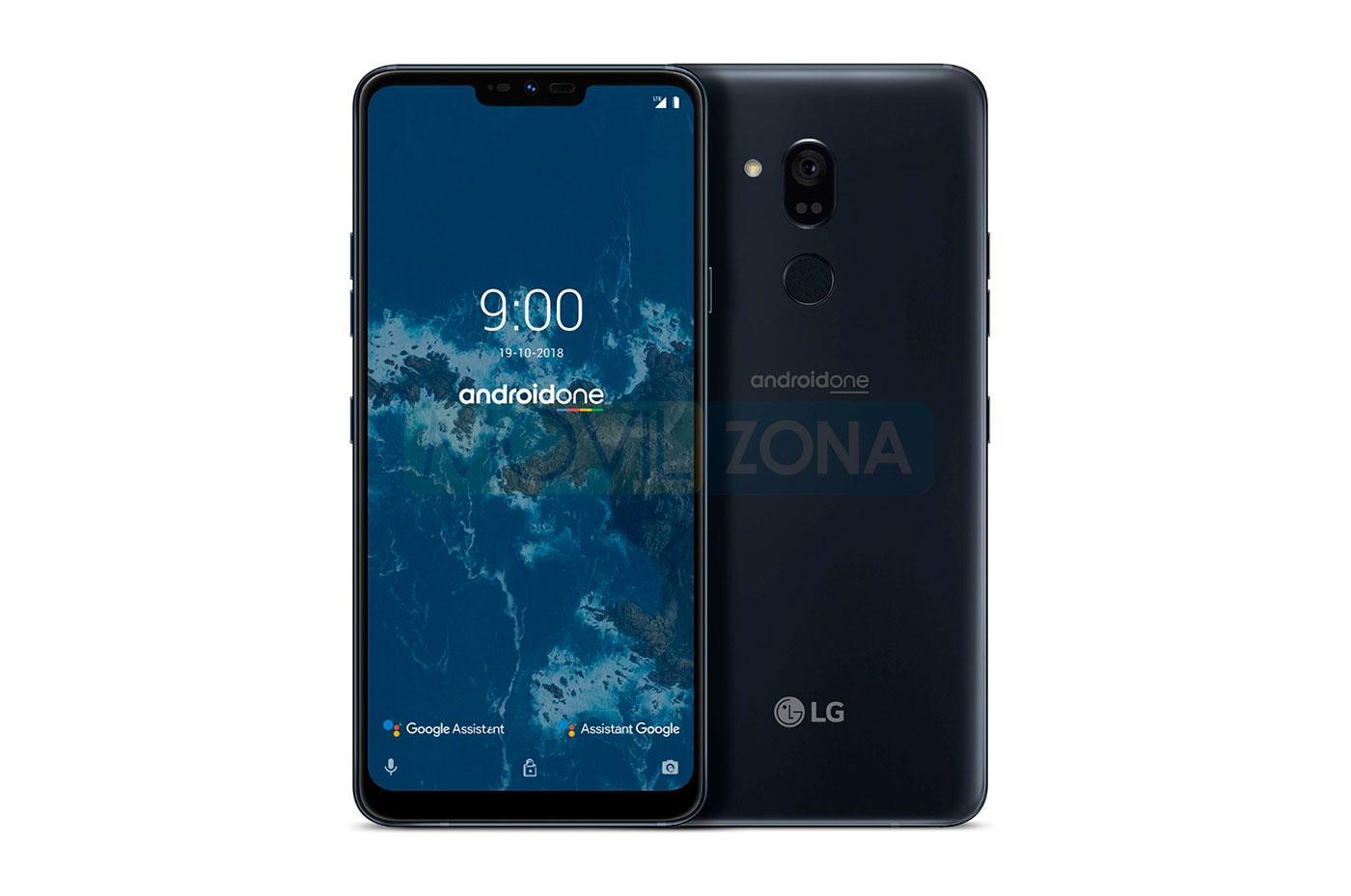 LG G7 One diseño