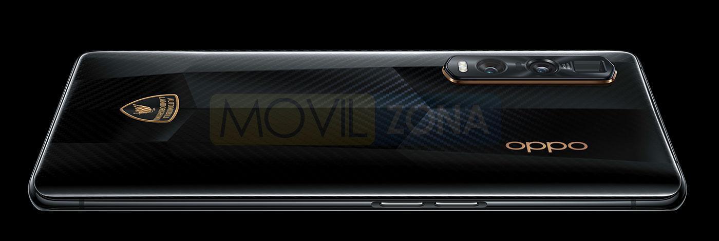 OPPO Find X2 Pro Edición Especial Lamborghini cámara