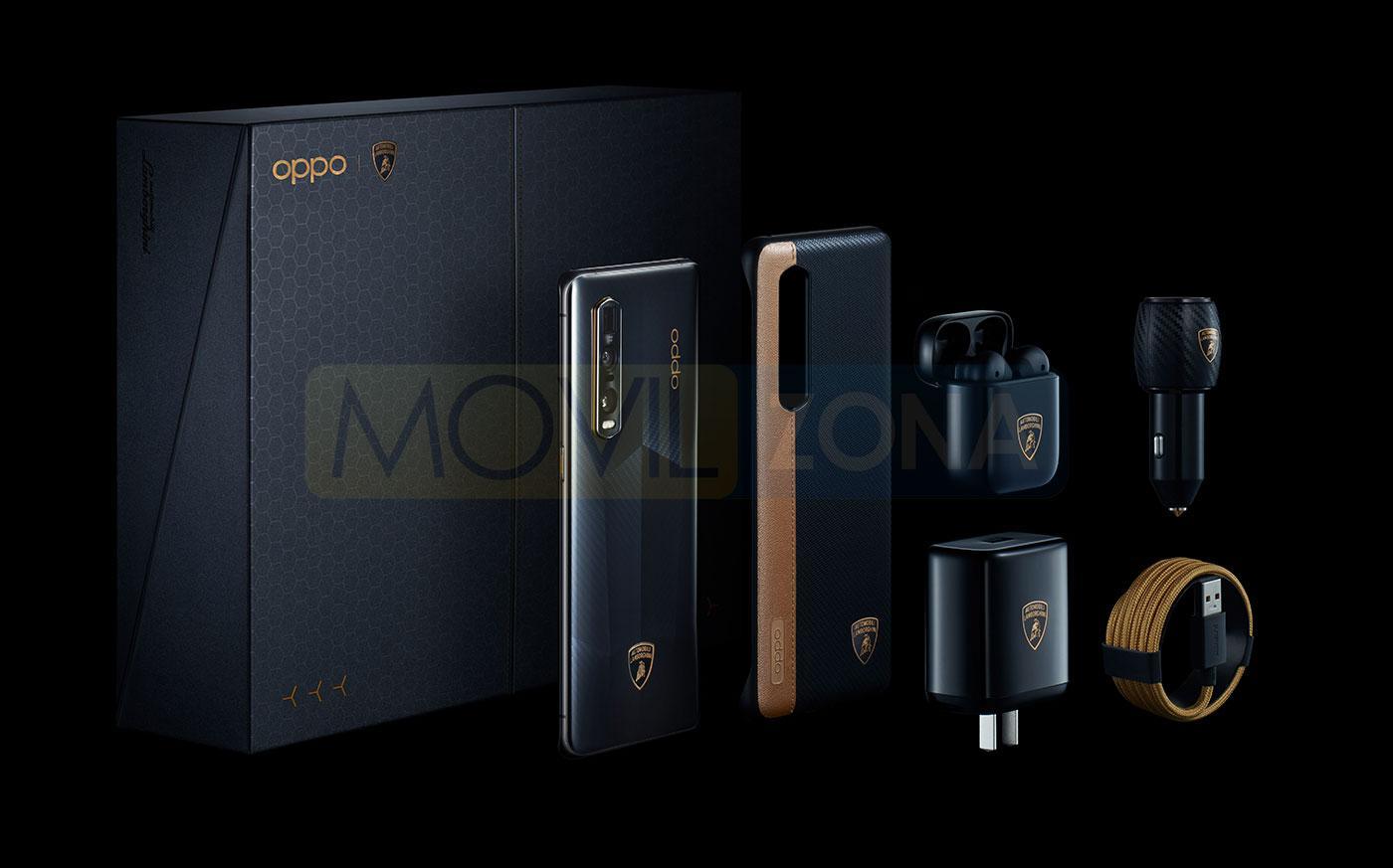 OPPO Find X2 Pro Edición Especial Lamborghini diseño