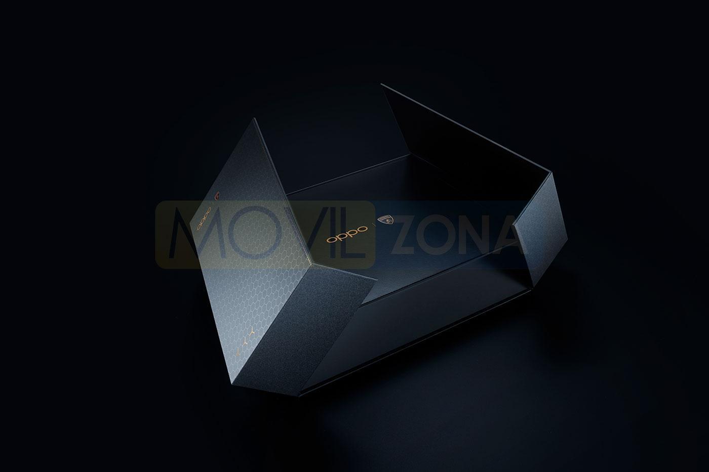 OPPO Find X2 Pro Edición Especial Lamborghini caja