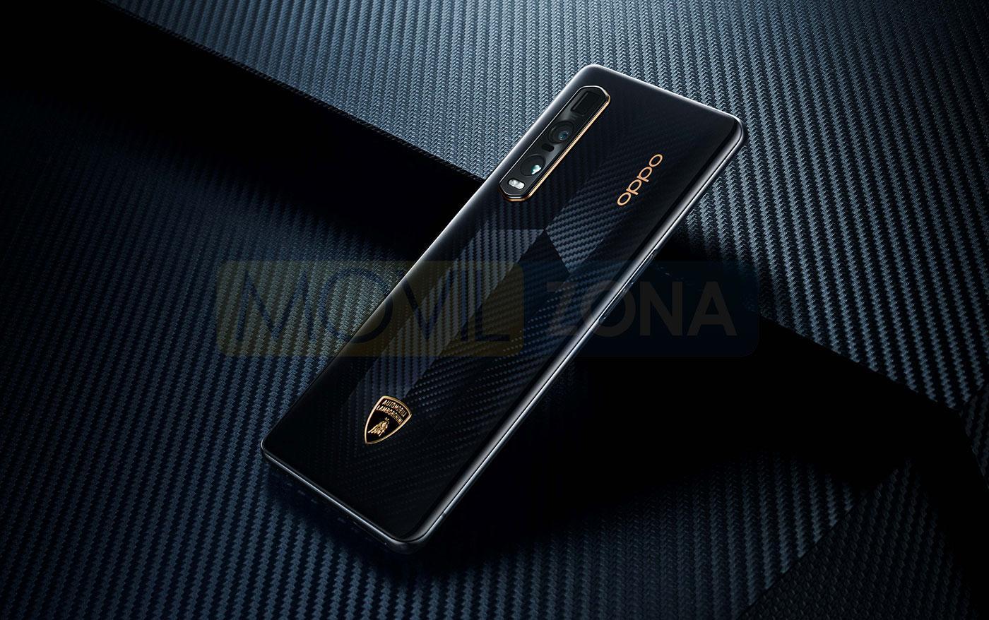 OPPO Find X2 Pro Edición Especial Lamborghini trasera