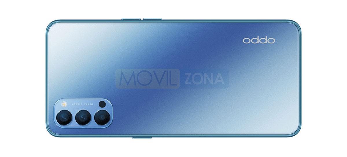 OPPO Reno4 azul