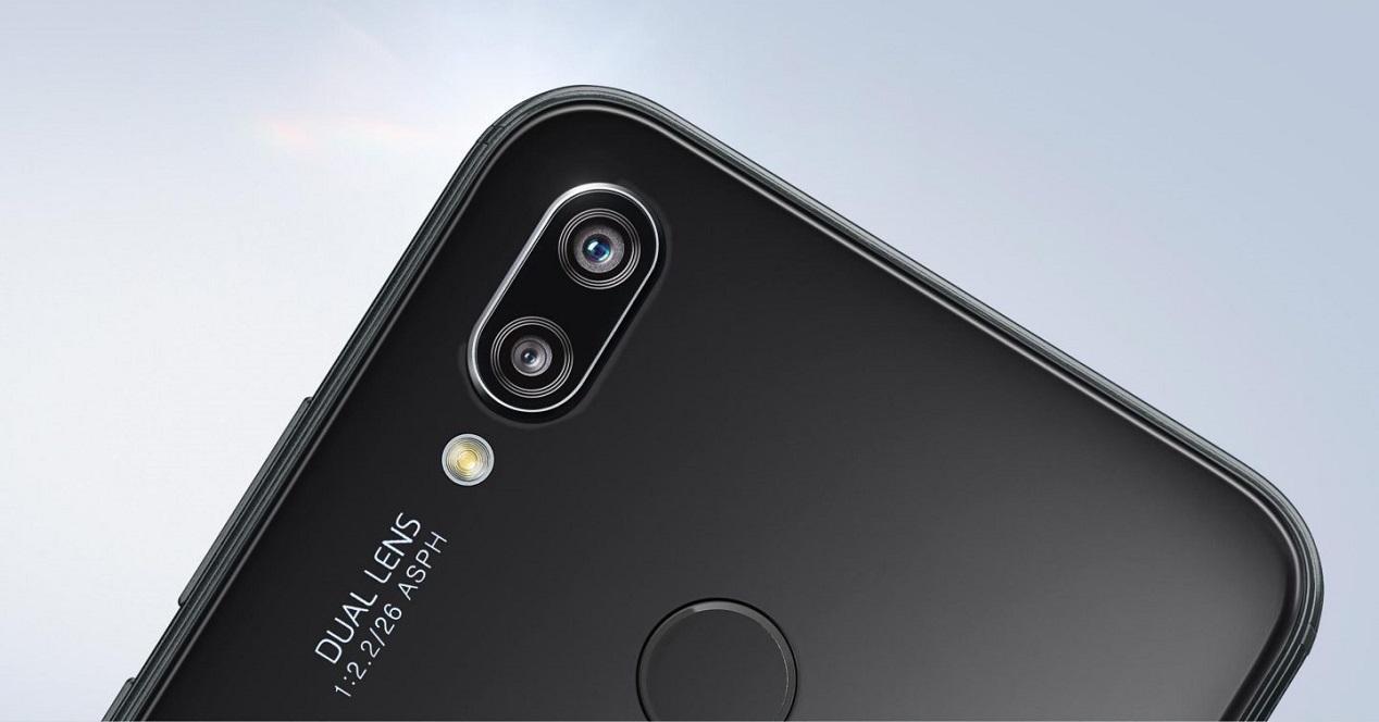 P20 Lite cámaras