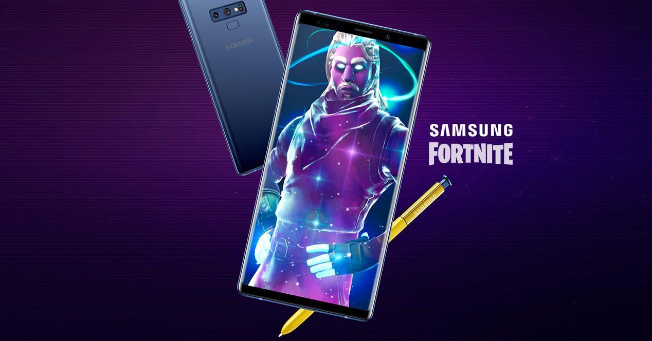 Samsung Fortnite