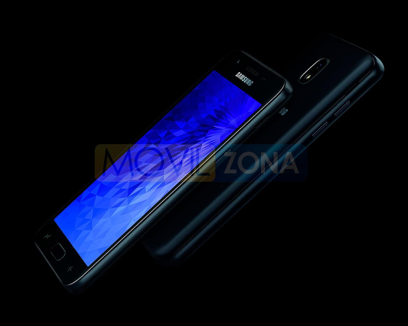 Samsung Galaxy J3 2018 diseño