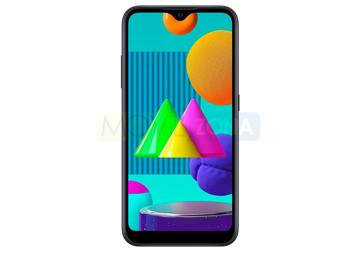 Samsung Galaxy M01 pantalla