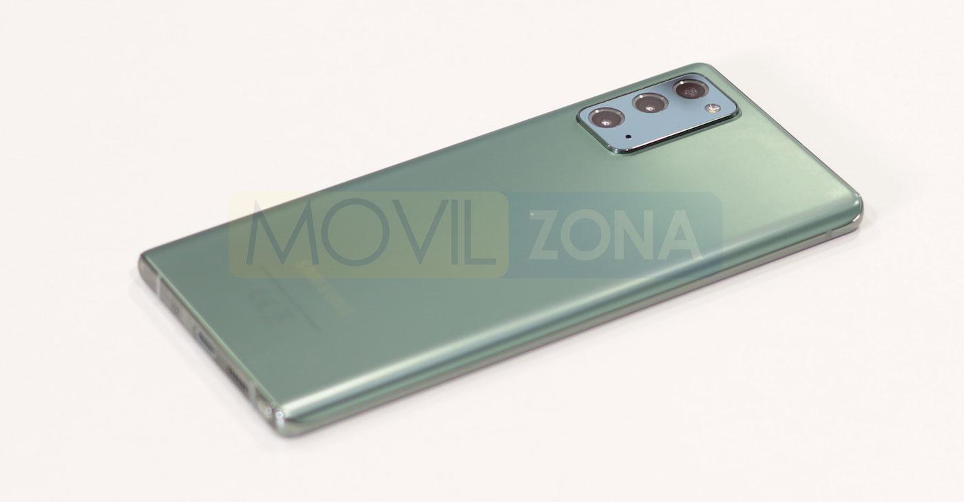 Samsung Galaxy Note 20 verde
