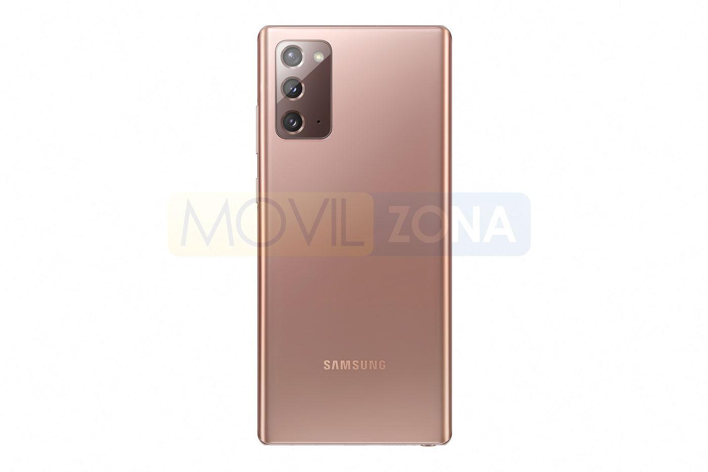Samsung Galaxy Note 20 trasera