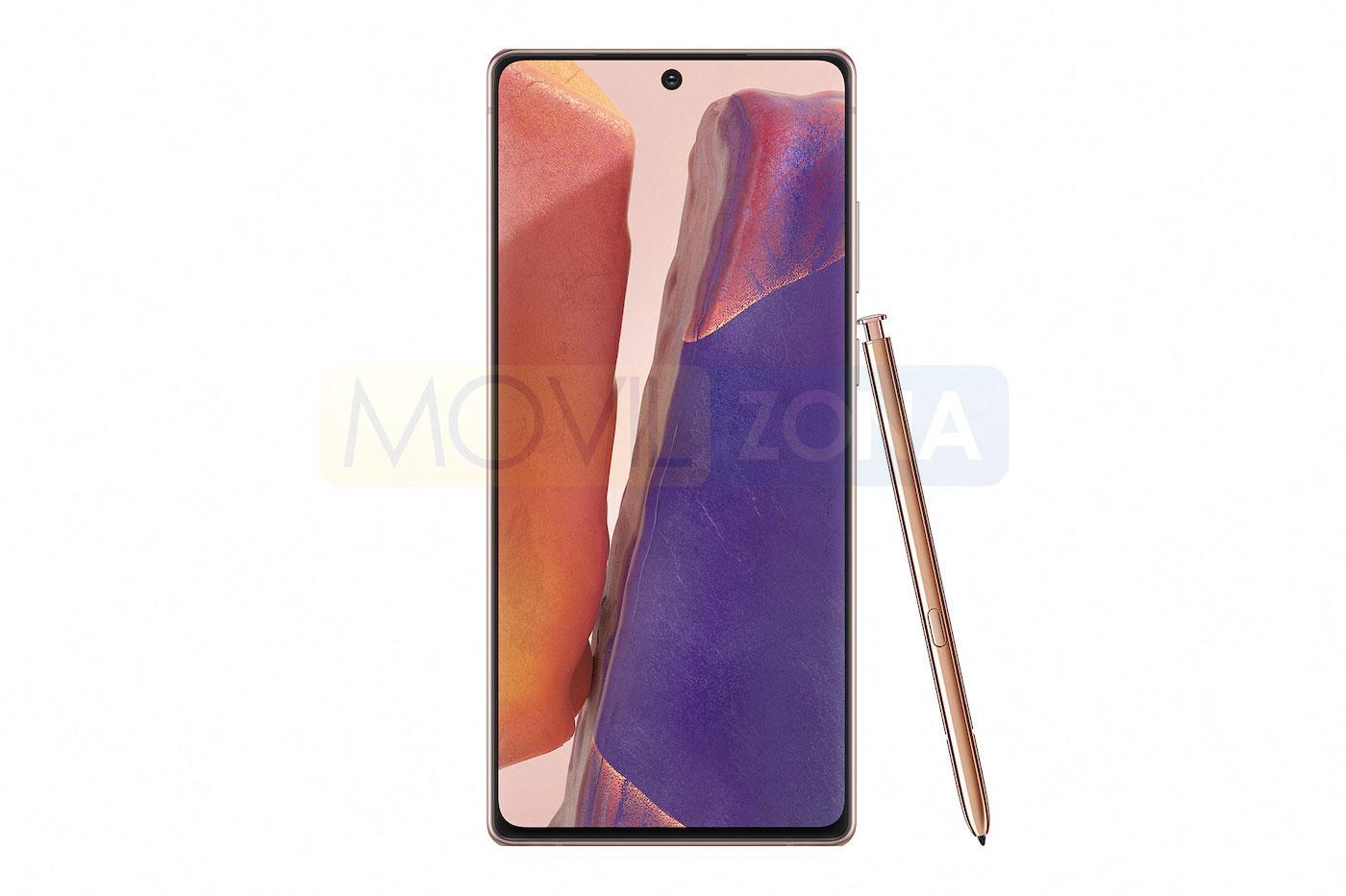 Samsung Galaxy Note 20 con open