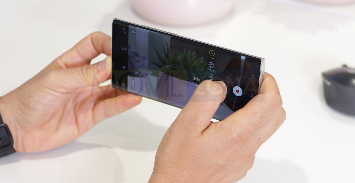 Samsung Galaxy Note 20 Ultra cámara