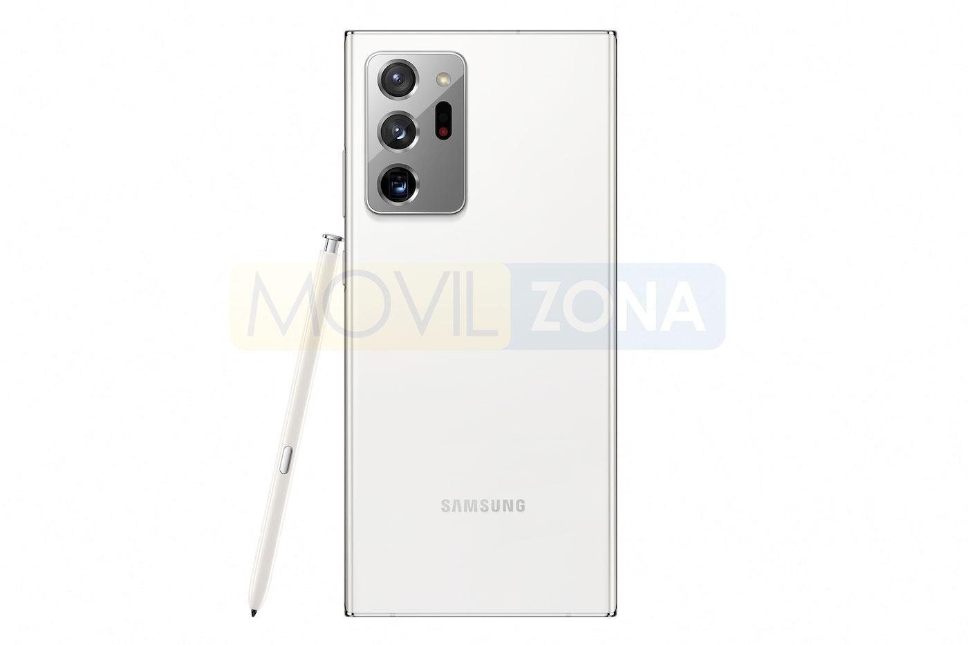 Samsung Galaxy Note 20 Ultra blanco