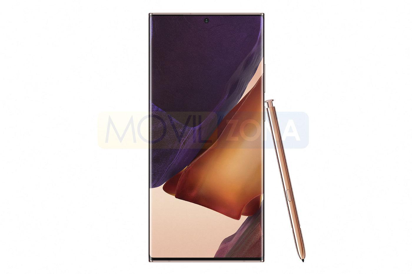 Samsung Galaxy Note 20 Ultra pantalla con open