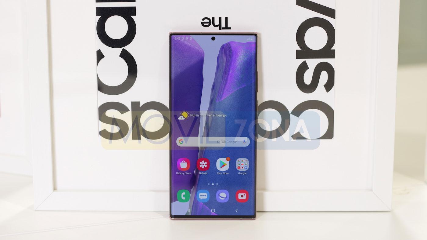 Samsung Galaxy Note 20 Ultra pantalla