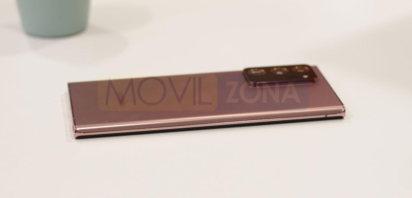 Samsung Galaxy Note 20 Ultra diseño