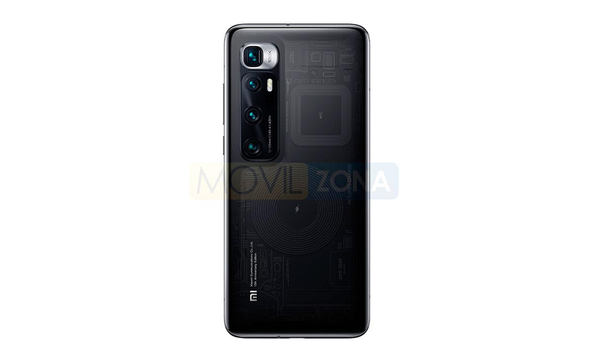 Xiaomi Mi 10 Ultra trasera