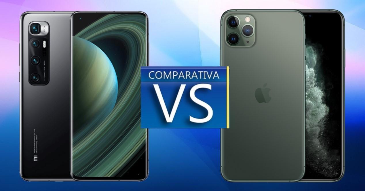 Xiaomi Mi 10 Ultra vs iPhone 11 Pro Max
