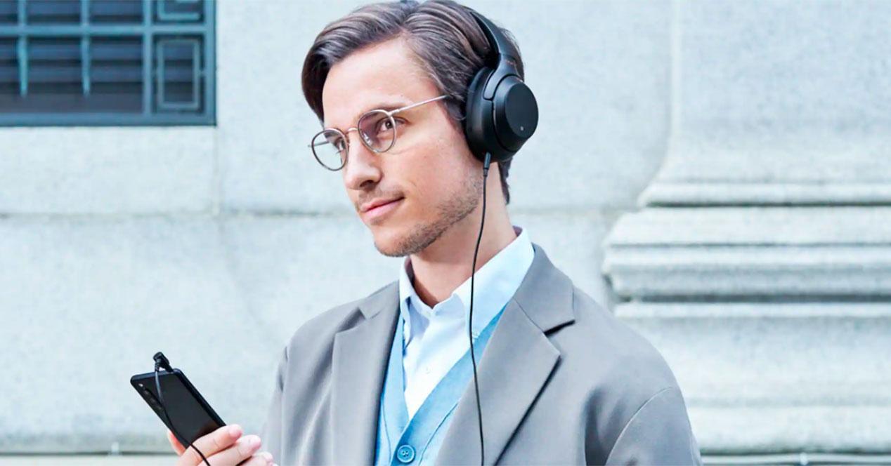 sonido auriculares Sony Xperia