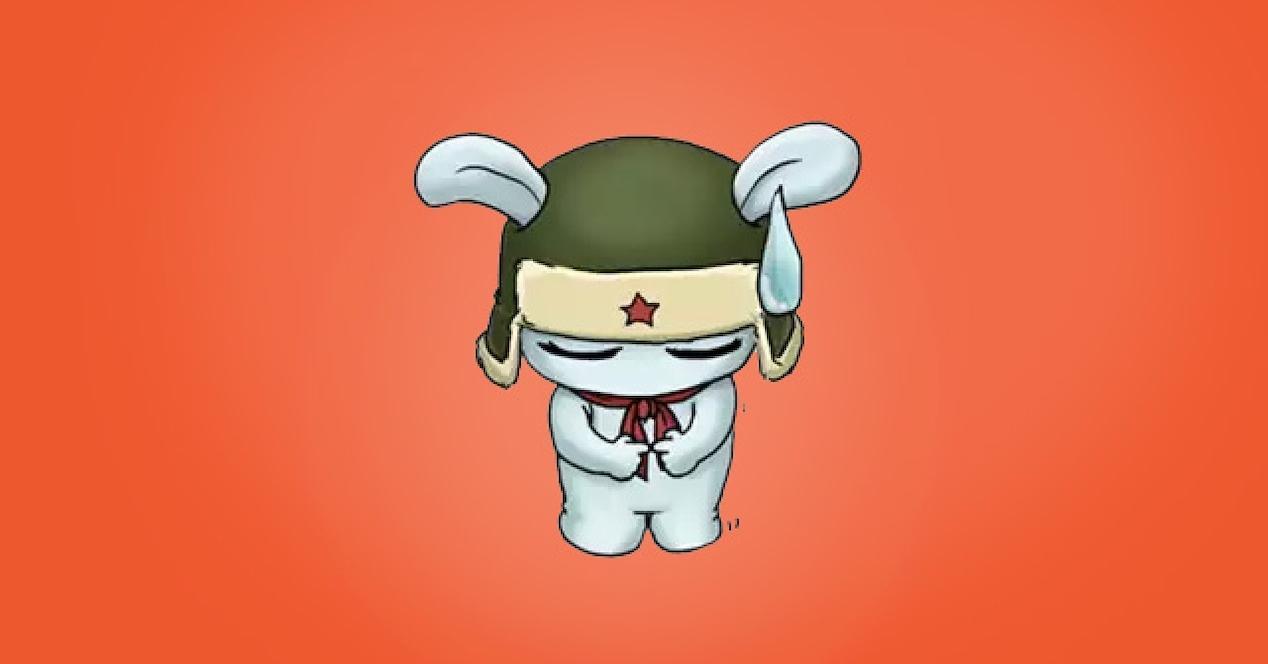 mascota xiaomi triste
