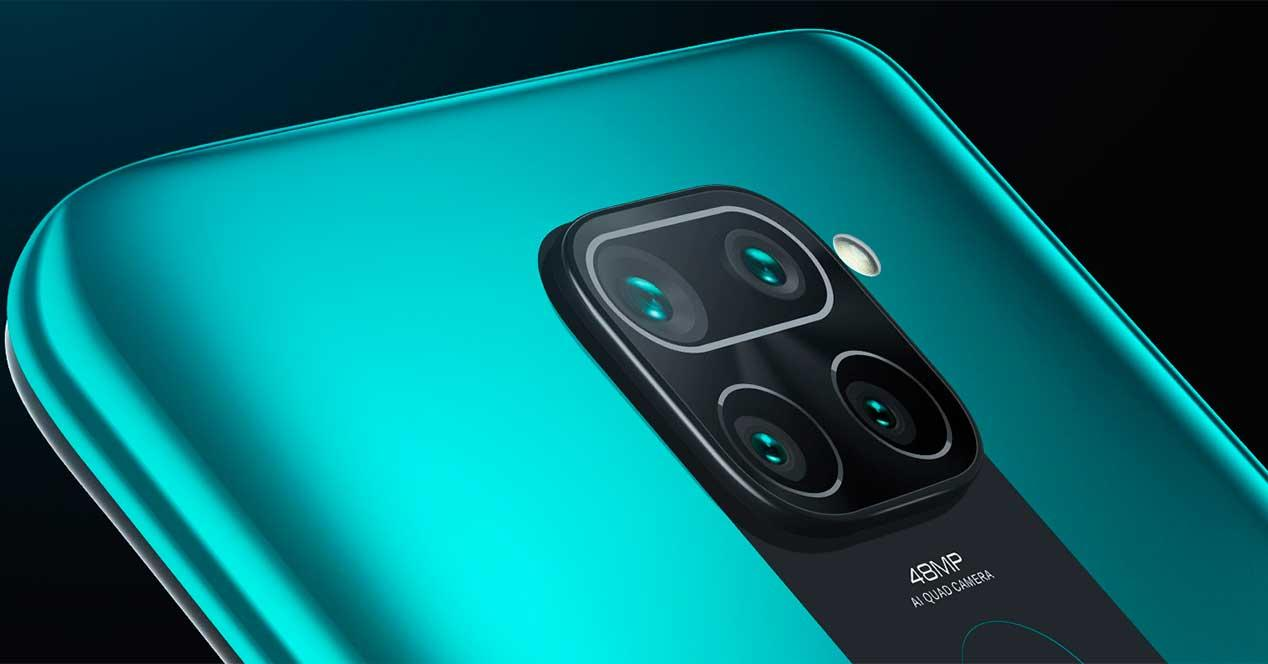 Cámara Xiaomi Redmi Note 9