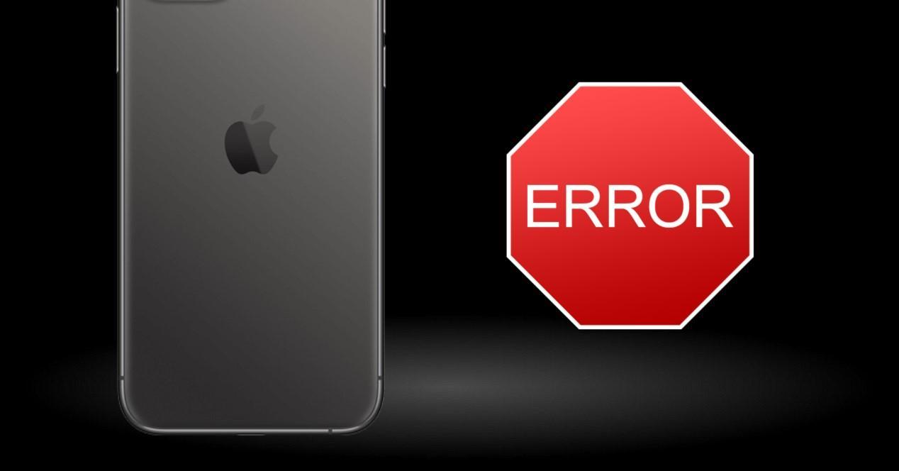 error en apple