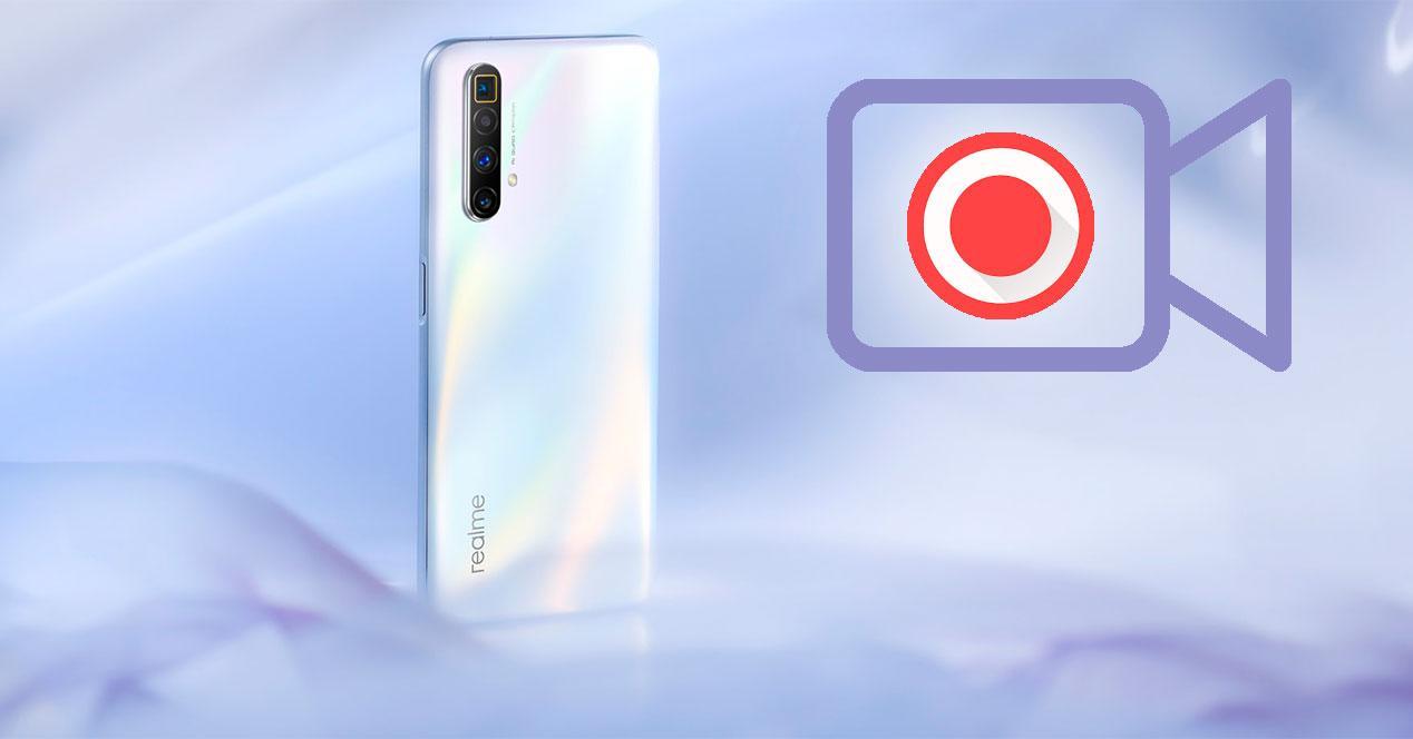 grabar vídeo pantalla Realme