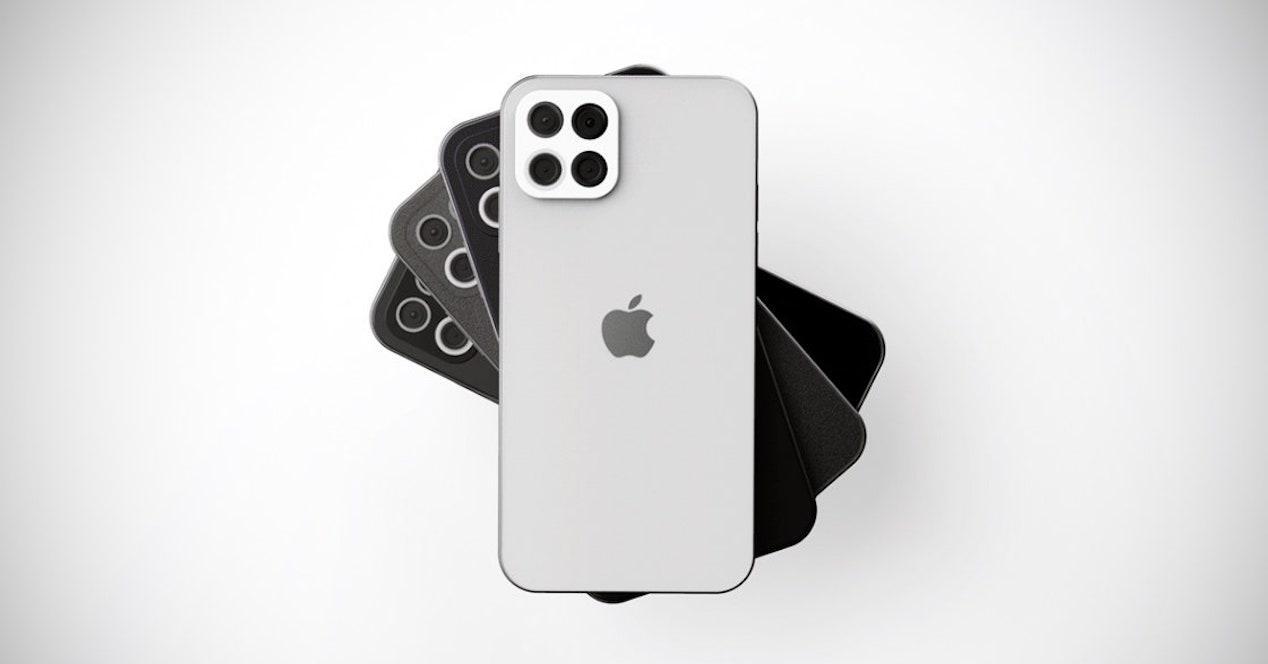 iPhone 12 concepto