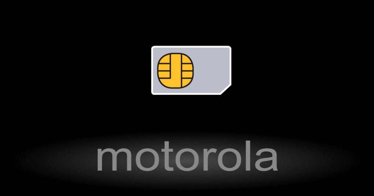 motorola y tarjeta sim