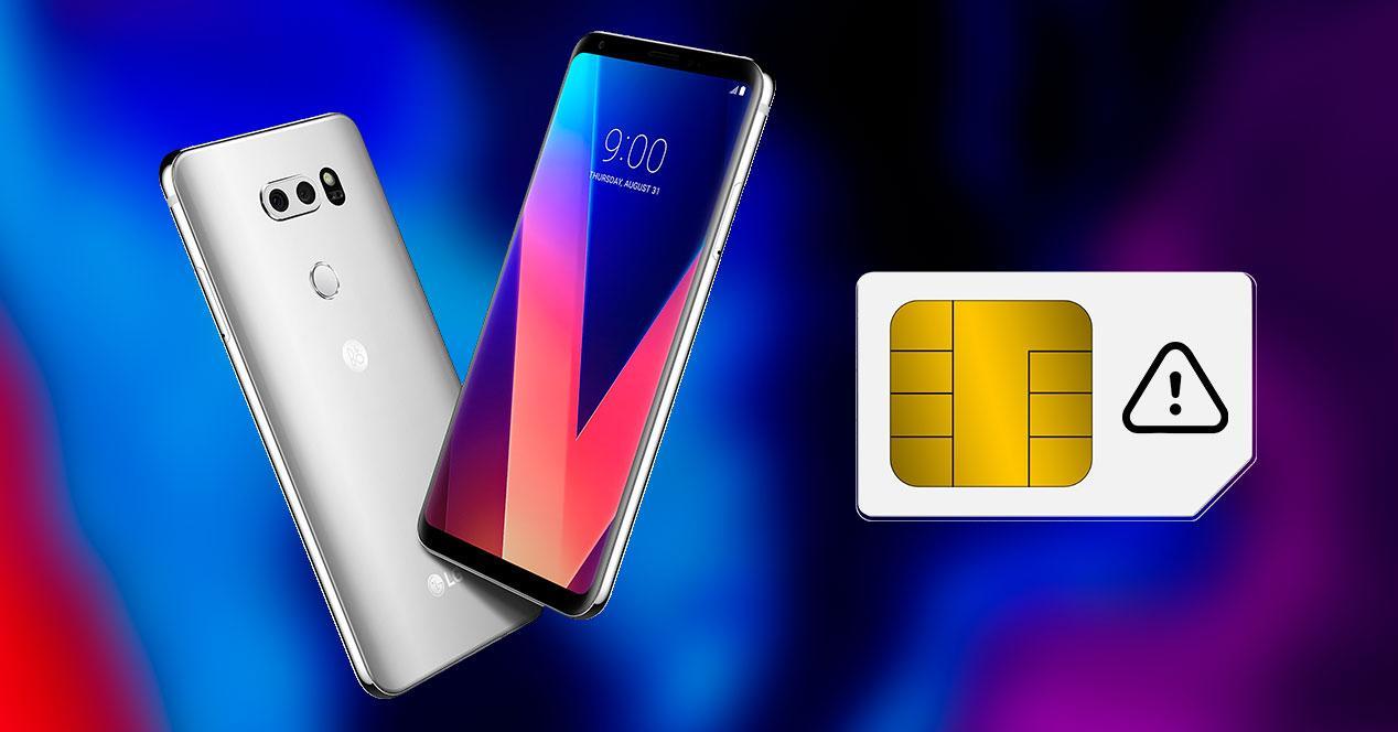 problema lg tarjeta SIM
