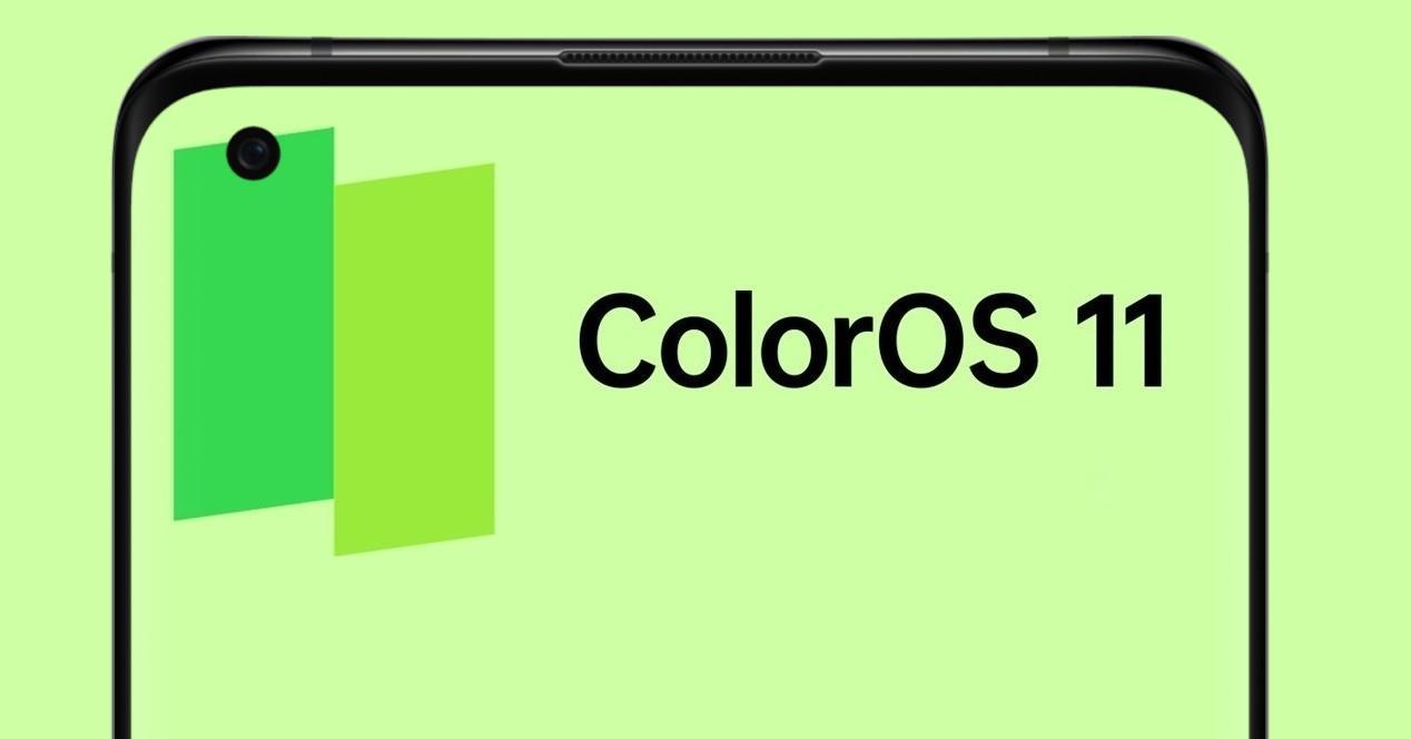 ColorOS 11 y movil oppo