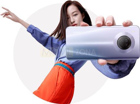 Huawei Y9a cámara
