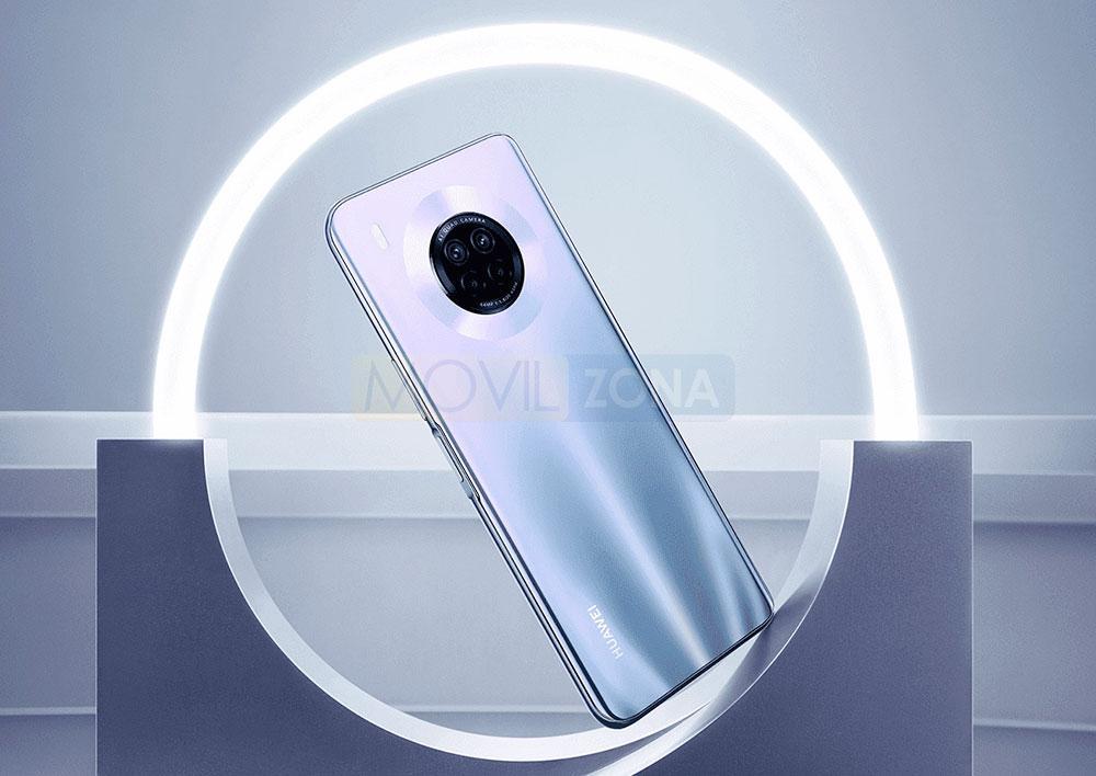 Huawei Y9a trasera
