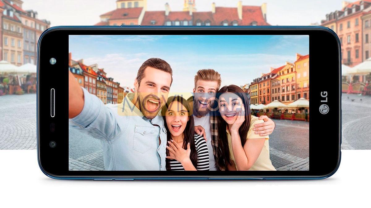 LG X5 2018 pantalla