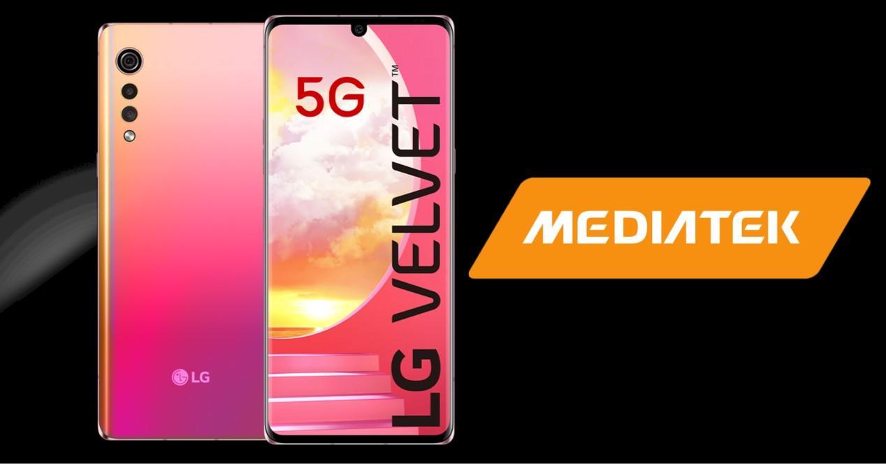 Lg Velvet y mediatek