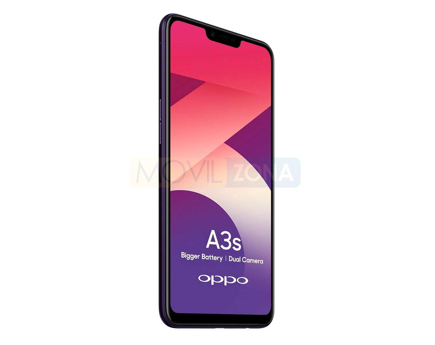 OPPO A3s pantalla